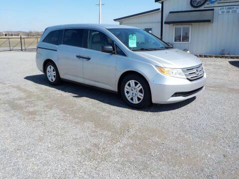 2013 Honda Odyssey for sale at Country Auto in Huntsville OH