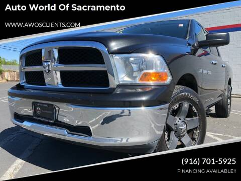2011 RAM Ram Pickup 1500 for sale at Auto World of Sacramento Stockton Blvd in Sacramento CA