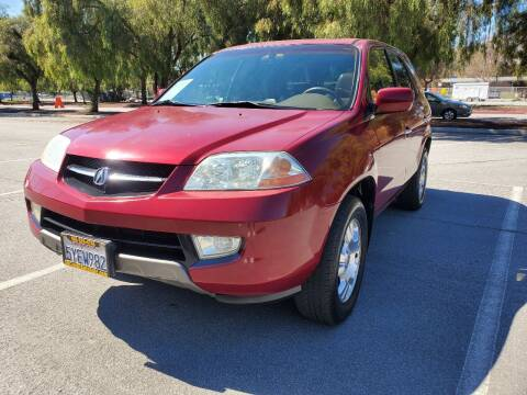 2002 Acura MDX for sale at ALL CREDIT AUTO SALES in San Jose CA