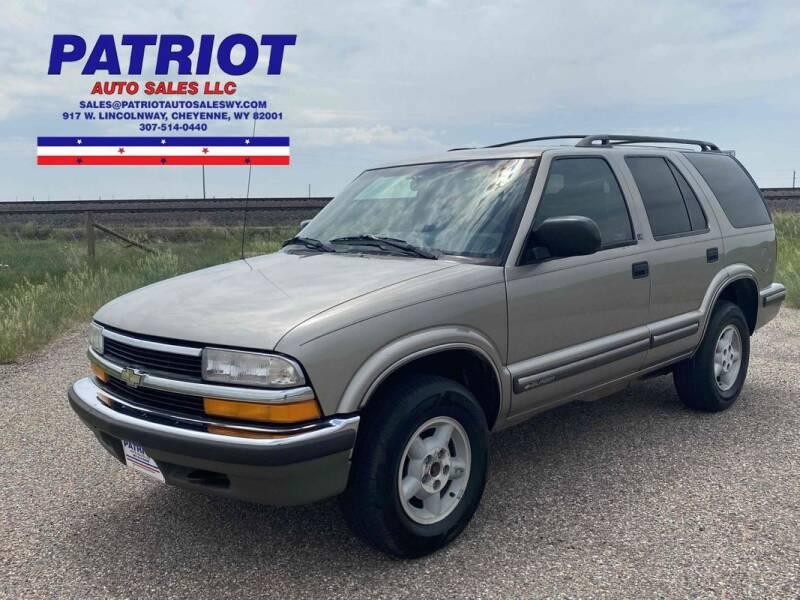1999 Chevrolet Blazer for sale in Cheyenne, WY