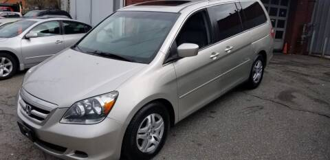 2006 Honda Odyssey for sale at Howe's Auto Sales in Lowell MA