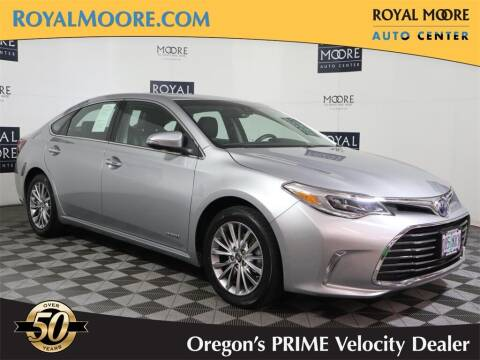 2016 Toyota Avalon Hybrid for sale at Royal Moore Custom Finance in Hillsboro OR