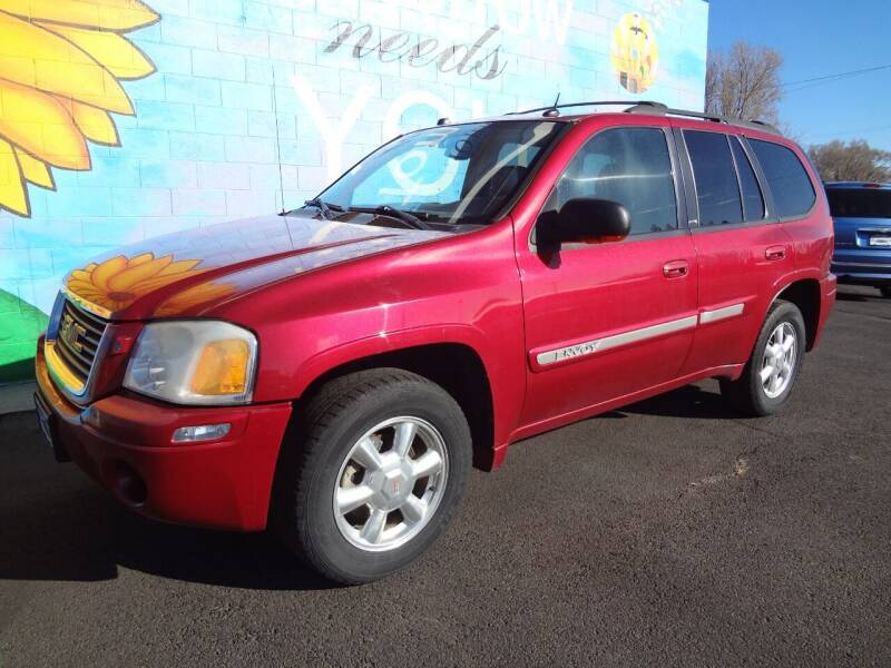 2004 GMC Envoy for sale at FINISH LINE AUTO SALES in Idaho Falls ID