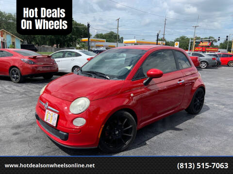 2012 FIAT 500 for sale at Hot Deals On Wheels in Tampa FL