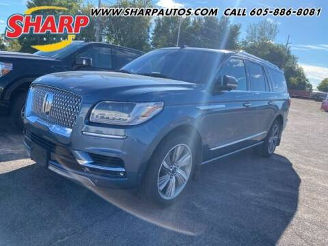 2018 Lincoln Navigator L for sale at Sharp Automotive in Watertown SD