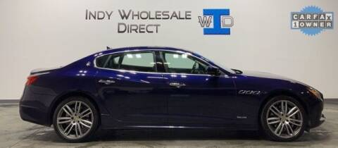 2018 Maserati Quattroporte for sale at Indy Wholesale Direct in Carmel IN