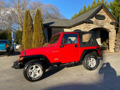 2002 Jeep Wrangler for sale at Hoyle Auto Sales in Taylorsville NC
