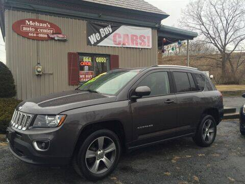 2016 Jeep Compass for sale at Mehan's Auto Center in Mechanicville NY