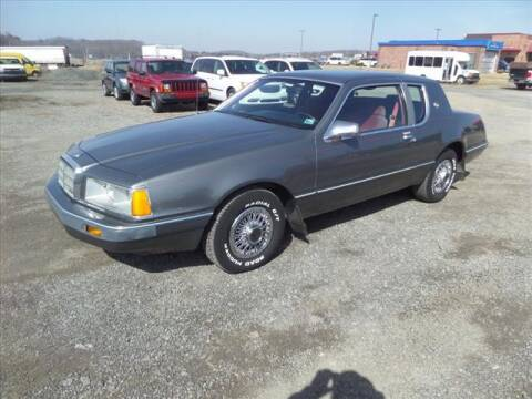 1986 Mercury Cougar for sale at Terrys Auto Sales in Somerset PA