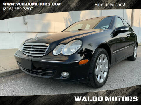 2005 Mercedes-Benz C-Class for sale at WALDO MOTORS in Kansas City MO