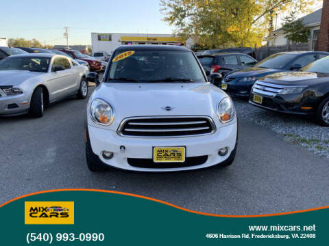 2015 MINI Paceman for sale at Mix Cars in Fredericksburg VA