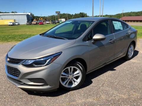 2017 Chevrolet Cruze for sale at STATELINE CHEVROLET BUICK GMC in Iron River MI