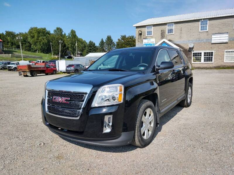 2015 GMC Terrain for sale at G & H Automotive in Mount Pleasant PA