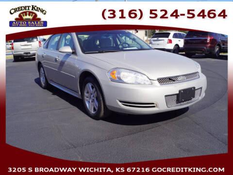 2012 Chevrolet Impala for sale at Credit King Auto Sales in Wichita KS