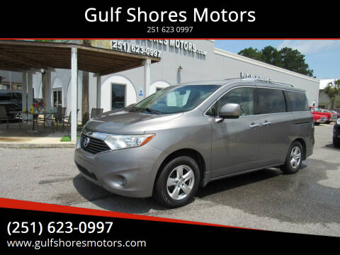 2012 Nissan Quest for sale at Gulf Shores Motors in Gulf Shores AL