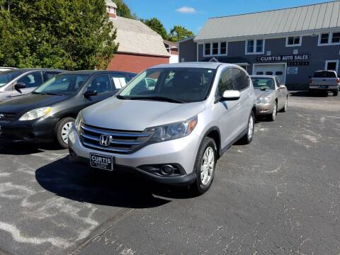 2012 Honda CR-V for sale at CURTIS AUTO SALES in Pittsford VT