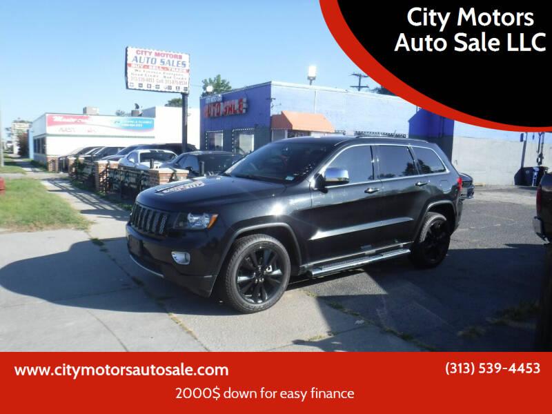 2013 Jeep Grand Cherokee for sale at City Motors Auto Sale LLC in Redford MI