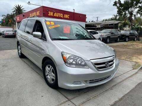 2005 Honda Odyssey for sale at 3K Auto in Escondido CA