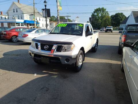 2010 Nissan Frontier for sale at TC Auto Repair and Sales Inc in Abington MA