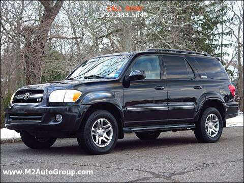 2006 Toyota Sequoia for sale at M2 Auto Group Llc. EAST BRUNSWICK in East Brunswick NJ