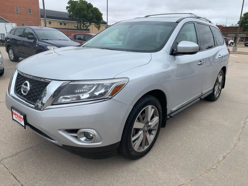 2013 Nissan Pathfinder for sale at Spady Used Cars in Holdrege NE