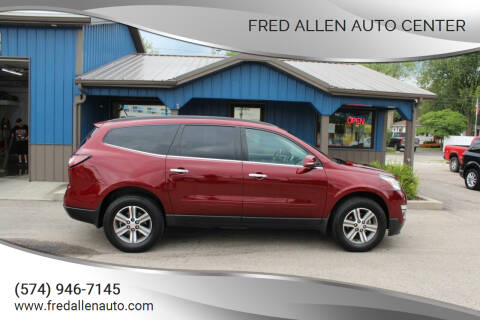 2017 Chevrolet Traverse for sale at Fred Allen Auto Center in Winamac IN