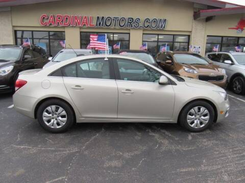 2016 Chevrolet Cruze Limited for sale at Cardinal Motors in Fairfield OH