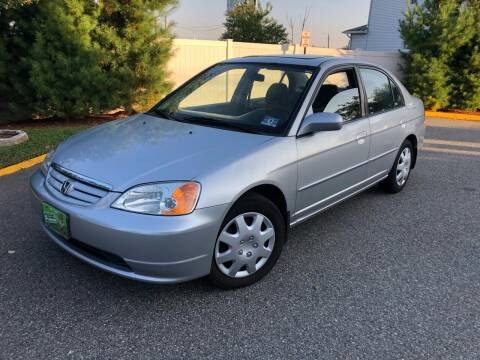 2003 Honda Civic for sale at Giordano Auto Sales in Hasbrouck Heights NJ