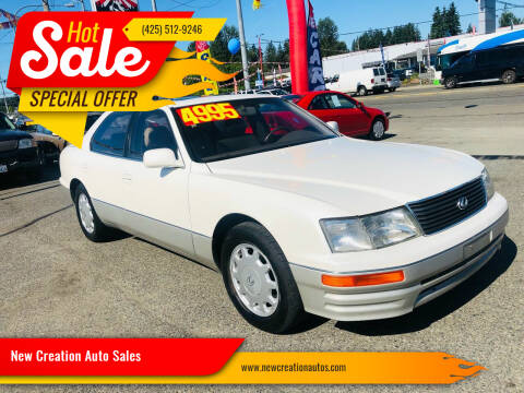 1996 Lexus LS 400 for sale at New Creation Auto Sales in Everett WA