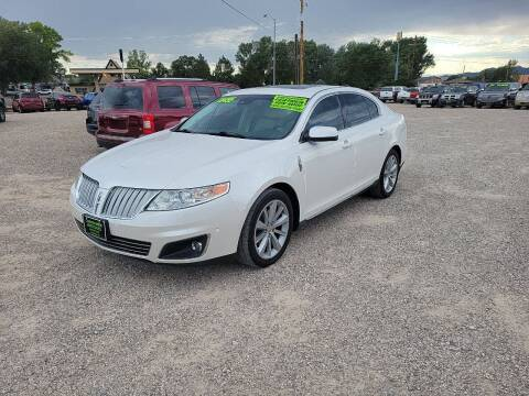 2011 Lincoln MKS for sale at Canyon View Auto Sales in Cedar City UT