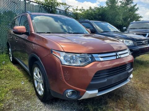2015 Mitsubishi Outlander for sale at M & M Auto Brokers in Chantilly VA