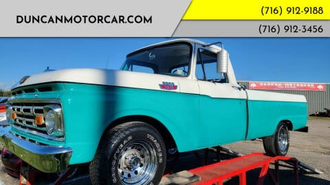 1964 Ford F100 for sale at DuncanMotorcar.com in Buffalo NY