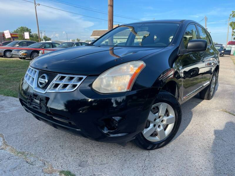 2012 Nissan Rogue for sale at Texas Select Autos LLC in Mckinney TX