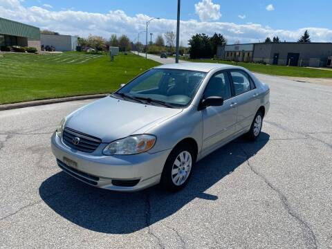 2004 Toyota Corolla for sale at JE Autoworks LLC in Willoughby OH