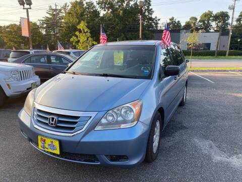 2010 Honda Odyssey for sale at Primary Motors Inc in Commack NY