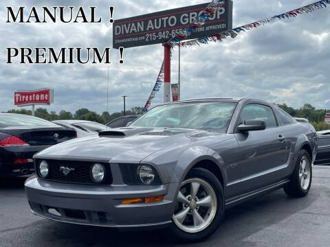 2007 Ford Mustang for sale at Divan Auto Group in Feasterville Trevose PA