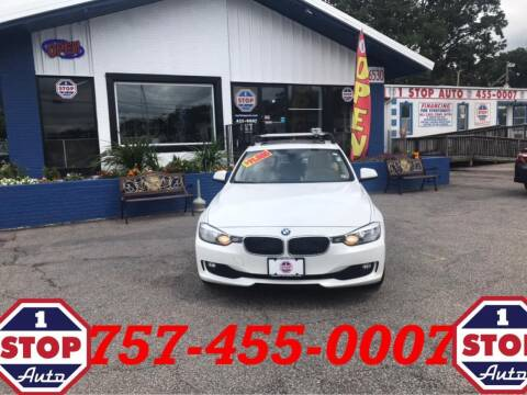 2014 BMW 3 Series for sale at 1 Stop Auto in Norfolk VA