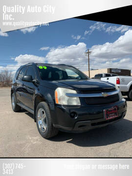 2009 Chevrolet Equinox for sale at Quality Auto City Inc. in Laramie WY