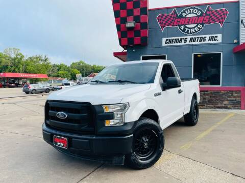 2017 Ford F-150 for sale at Chema's Autos & Tires in Tyler TX