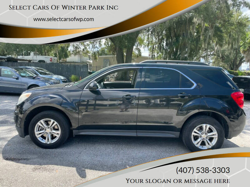 2012 Chevrolet Equinox for sale at Select Cars Of Winter Park Inc in Orlando FL