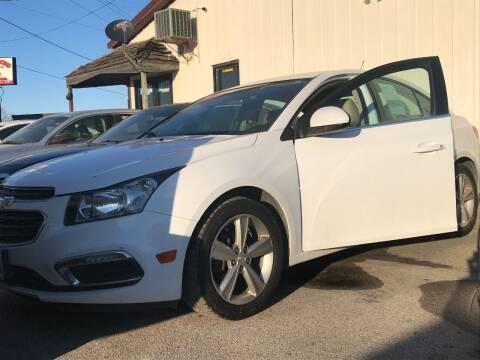 2015 Chevrolet Cruze for sale at El Rancho Auto Sales in Des Moines IA