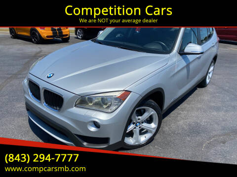 2014 BMW X1 for sale at Competition Cars in Myrtle Beach SC