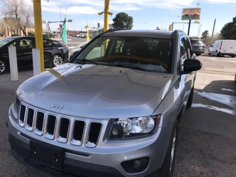 2015 Jeep Compass for sale at Fiesta Motors Inc in Las Cruces NM