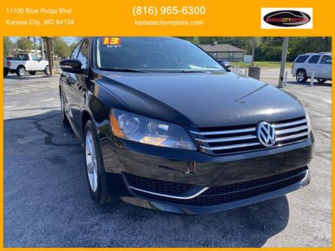2013 Volkswagen Passat for sale at Kansas City Motors in Kansas City MO