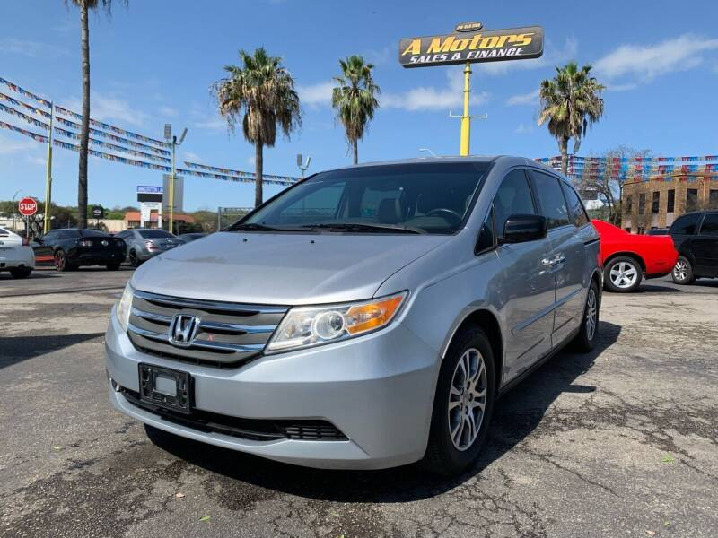 2012 Honda Odyssey for sale at A MOTORS SALES AND FINANCE in San Antonio TX
