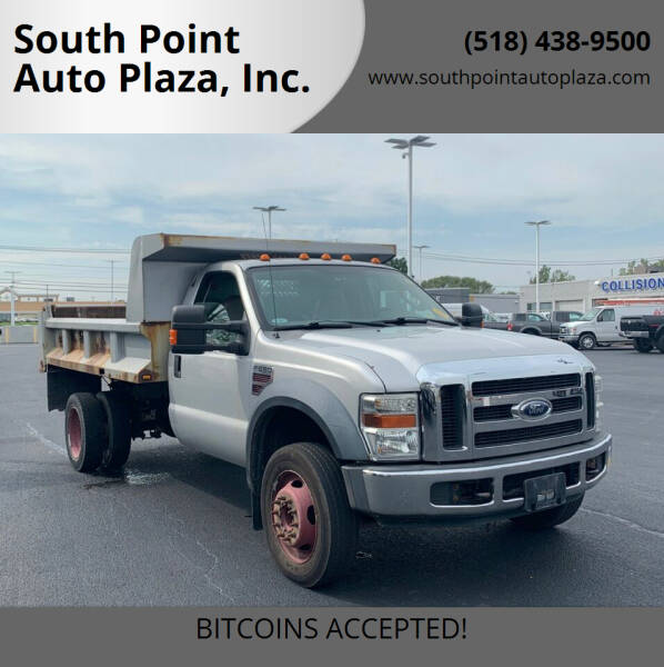2008 Ford F-550 Super Duty for sale at South Point Auto Plaza, Inc. in Albany NY