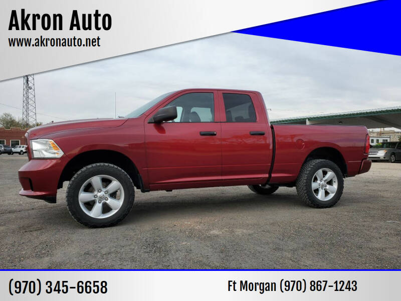 2014 RAM Ram Pickup 1500 for sale at Akron Auto - Fort Morgan in Fort Morgan CO