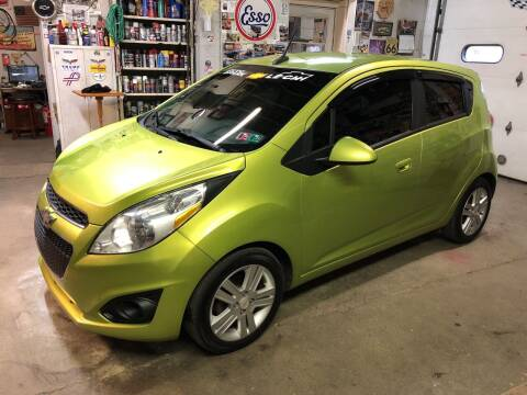 2013 Chevrolet Spark for sale at STEEL TOWN PRE OWNED AUTO SALES in Weirton WV