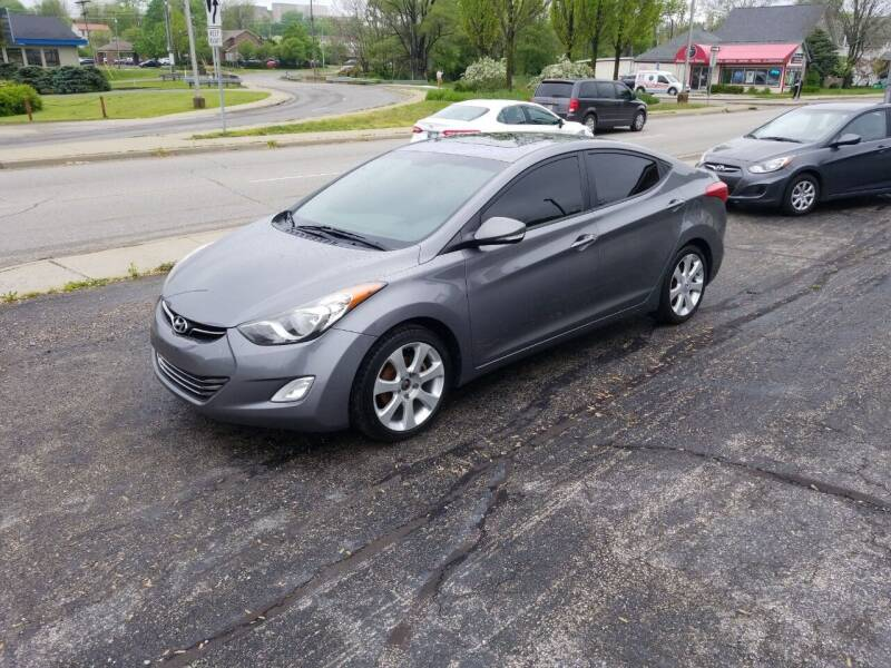 2011 Hyundai Elantra for sale at Indiana Auto Sales Inc in Bloomington IN