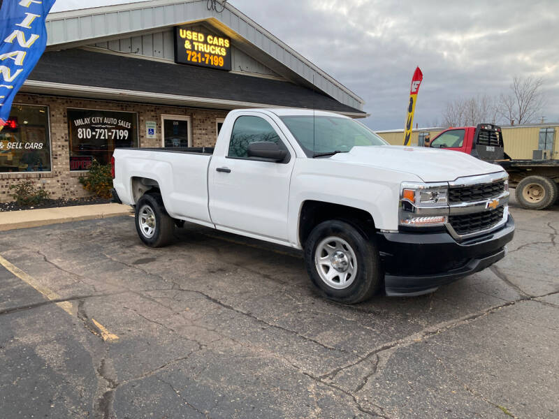 2018 Chevrolet Silverado 1500 for sale at Imlay City Auto Sales LLC. in Imlay City MI